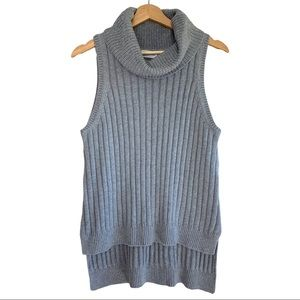 Tiger Mist Ribbed Cotton a Acrylic and Blend Top